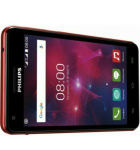 PHILIPS Xenium V377 Black+Red
