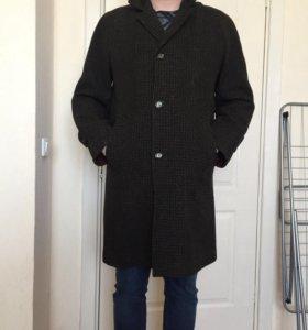 Шерстяное пальто CROMBIE