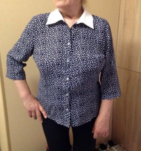 Новая турецкая блузка 52 р-р