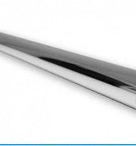 Трубки металлич. хромированные , а также крепления
