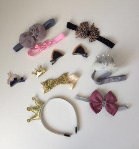 Заколки для маленькой модницы