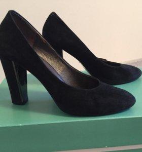 Туфли замшевые р.36