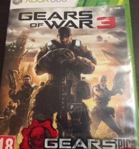 Gears of war 3 x box 360
