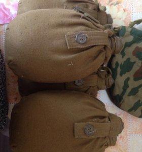Фляжки армейские в чехле,новые