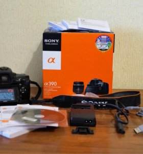 Зеркальный фотоаппарат Sony DSLR-a390L