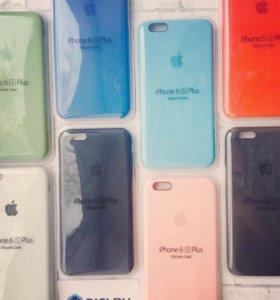 Оригинальные силиконовые чехлы на IPhone 6plus/6s