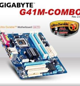 Материнская карта GIGABYTE GA-G41M-Combo