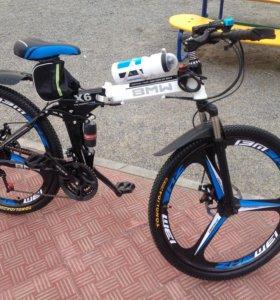 Велосипед 🚲BMW X6 литье комплект навесного свет