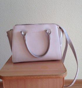 Кожаная сумка David Joan's