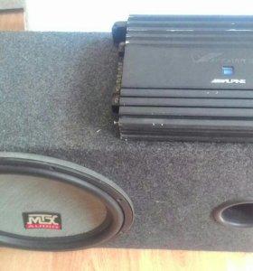 Alpine MRP-M1000 и MTX 615