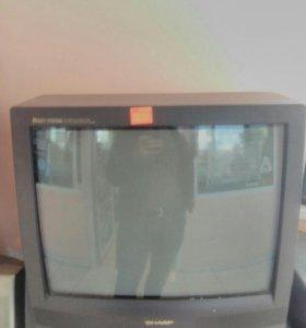 Телевизор шарп полностью рабочий без пульта