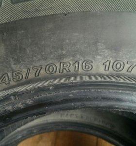 Резина 2 баллона 245/70R16