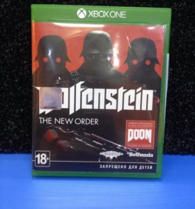 Диск X-Box One Wolfenstein New Order.