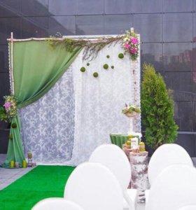 Оформление фотозон и свадеб