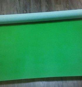 Зеленый хромакей фон тканевый shesha 2Х5 М