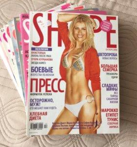 """Женские журналы """"SHAPE"""""""