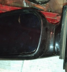 Зеркало левое электр. с обогревом ауди100 с4 91-94