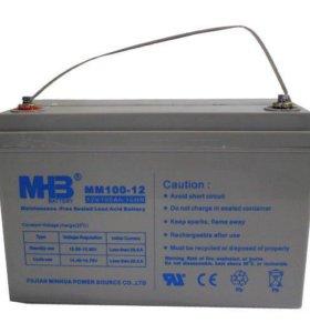 Аккумуляторы для ИБП 12в 100Ач