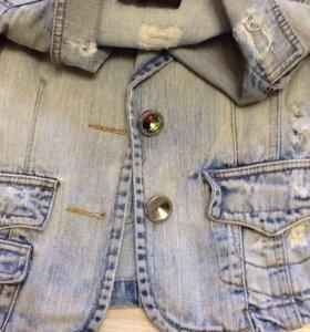 Куртка джинсовая 42 размер