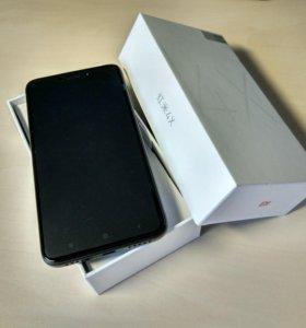 Xiaomi Redmi 4X 3/32Gb, Black, Новый