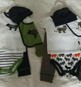 одежда для новорожденных и малышей новые