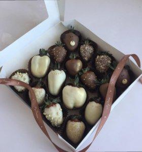 Клубника в шоколаде Barry Callebaut.