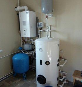 Сделаем монтаж системы отопления,водоснабжения,кан