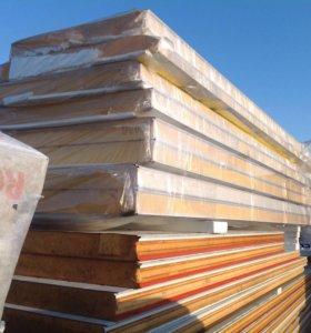 СП 120мм стеновые с ппу 3-6м