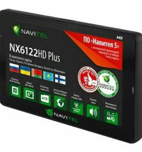Большой Навигатор NX6122 HD Plus 6 дюймов