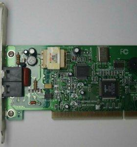 PCI модем Genius GM56PCI-L (K0238026 Rev. A)