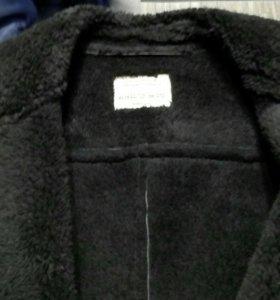 Куртка-дубленка.