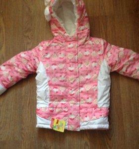 Куртка демисезонная новая 98-104
