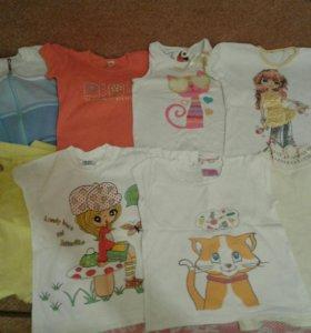 Кофты, футболки.