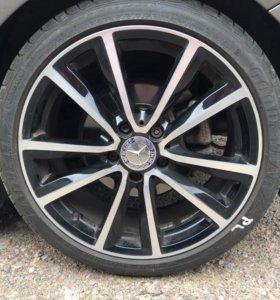 Комплект колёс 225/40/R18 для Mercedes B,C classe