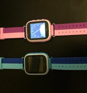Детские часы-трекер Q80