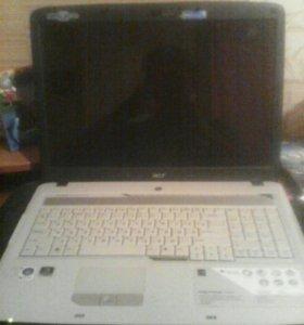 Ноутбук acer Aspier7720ZG