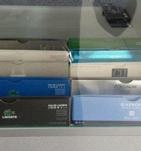 Ручки пробники и кассеты для бритья
