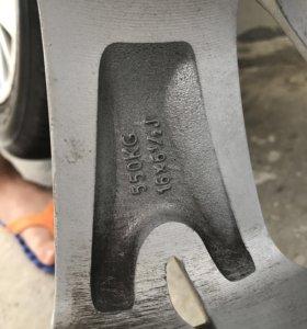 Комплект оригинальных колёс на Ситроен С5