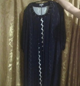 Платье большого размера,возможен торг