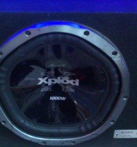 Сабвуфер Sony 1000w