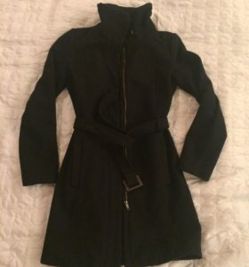 Пальто шерстяное Мango