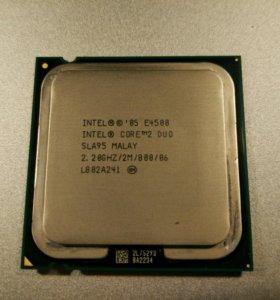 Intel core2duo e4500 2.2GHz lga775 процессор