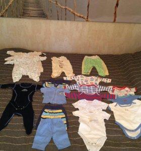 Одежда для ребёнка 0-3 месяца