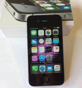 Новый Iphone 4S 16gb Черный