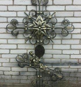 Крест ритуальный