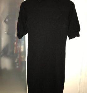 Чёрное платье на 44