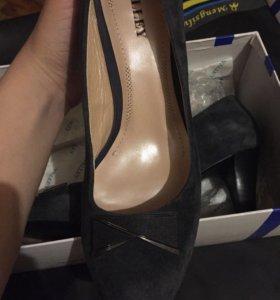 Туфли новые кожаные удобные , подарю подарок❤️