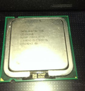 Процессор intel celeron 420