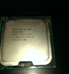 Процессор intel celeron 450