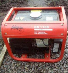 Бензиновый генератор fubag bs 1100.( 1.1 кВт)